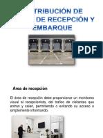 Distribución de Áreas de Recepción y Embarque