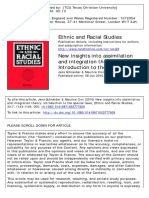 New Insights Into Assimilation and Integration Theory - Introduction to the Special Issue