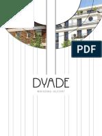 Brochure Dyade Maisons Alfort