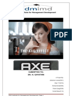 AXE Marketing Report_final