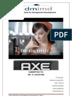 AXE Marketing Report_final