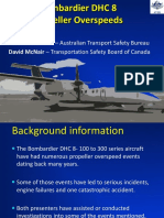 DHC-8 Propellor Overspeeds by Eric Blankenstein and David McNair