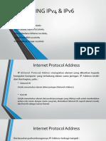 Subneting IPv4 dan IPv6