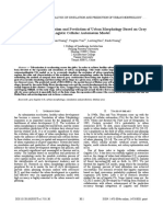 An Analysis of Simulation and Prediction of Urban Morphology