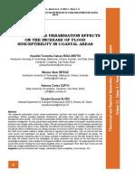 Analysis of the Urbanisation Effects on Flood