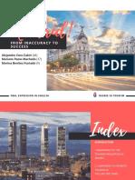 madrid. promoción turística