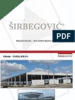 Širbegović - Prezentacija - Poljoprivredni Objekti