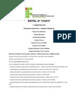 Edital Nº 73-2017 - Vest. 2018-1 - CURSOS TÉCNICOS - RETIFICADO 3.pdf