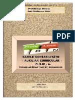 AUXILIAR - Bazele Contabilitatii Auxiliar Cl. a IX-A-converted