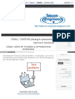 Telecom Engineer Blogspot in 2013 10 Cdma Umts Rf Interview 5