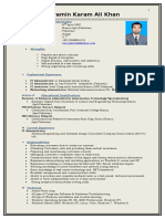 IT Manager CV