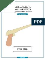 Guide p210es rubber band gun
