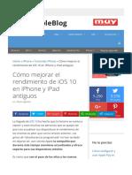 Cómo mejorar el rendimiento de iOS 10 en iPhone y iPad antiguos.pdf