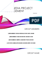 Multimedia Project Management