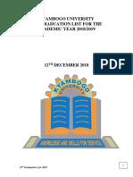 Final_15th Grad Main List_updated_7th Dec 2018