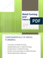 Lecture 13 - Metal Forming and Fabrication