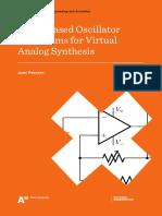 Filter based oscillator algorithms