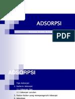 Adsorpsi New