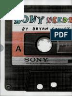 Sony Needs a Hit