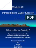 Module1 Intro to Security Final