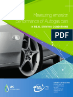 Measuring Emission Performance of Autogas Cars 2016