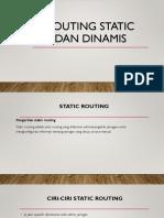 Routing Static Dan Dinamis