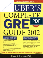 Gruber's Complete GRE Guide 2012