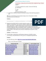 Solution Manual for Environmental Engineering – Richard Mines