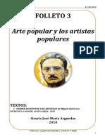 FOLLETO 3 Arte Popular y Los Artistas Populares