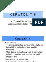 Zat Keratolitik, Zat yg Bekerja pd Pigmentasi.ppt
