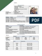 Curriculum Antonio Peñarooja Ros