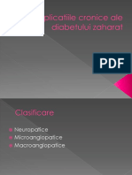 _Complicatiile Cronice Ale Diabetului Zaharat