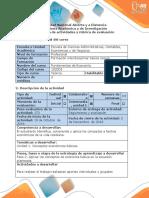 Guía de Actividades y Rubrica de Evaluación - Fase 2 - Aplicar Los Conceptos de Economía Básica en La Situación Planteada