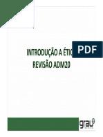 Revisão Ética ADM20