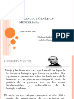 Herencia y Genética Mendeliana
