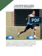 Los Test Utilizados en El Fútbol Para Controlar El Rendimiento