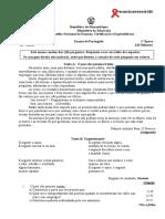 Portugues 2016 10a Classe 1a Epoca
