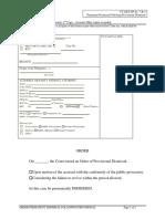 CT-MCF-SP 7-B-3 Permanent Dismissal Following Provisional