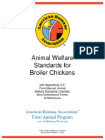 Broiler Chickens_Animal Welfare Standards