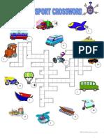 Transport Crossword Fun Activities Games Games 4153 1
