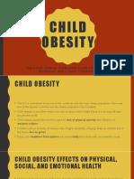 child obesity presentation