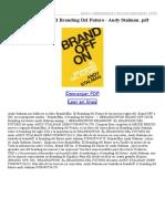Brandoff El Branding Del Futuro
