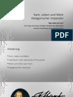 Kant. Leben und Werk