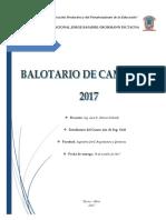 BALOTARIO DE MAQUINAS CHAVES 2017