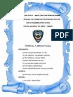 Porte en El Servicio Polical