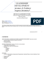 leadership studies inventory