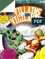 Villains & Vigilantes 2nd Edition
