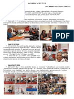 Raport Individual  Presecan Sabina, Ka1 Erasmus+ Tales, 2017-2019