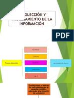 Recolección y Procesamiento de La Información