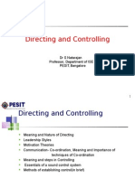 Directing and Controlling-New